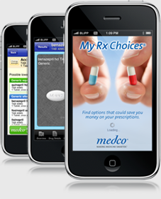 iPhone App called MyRxChoices for Medco